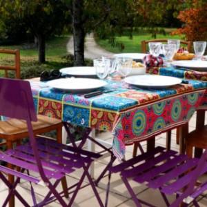 Table à manger en extérieur