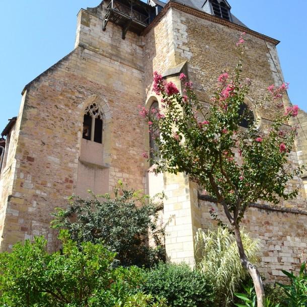 Eglise médieval de Bergerac