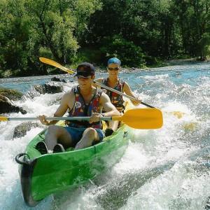 Kayak en Dordogne