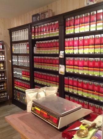 La surprenante collection de thé où vous pourrez faire votre choix