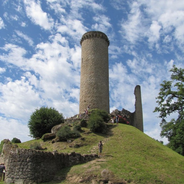 Ruines en Dordogne